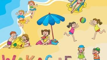 Życzenia na wakacje